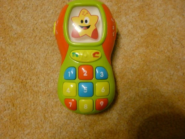 Zabawka telefon