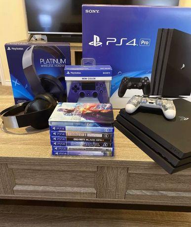 Приставка Sony PlayStation PS4 Pro
