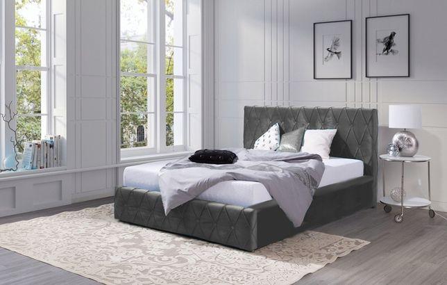 Łóżko tapicerowane 180x200 ADRIAN STELAŻ KOLORY