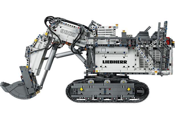 LEGO 42100 Technic Koparka Liebherr R9800