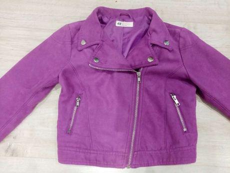 Куртка на девочку (косуха)