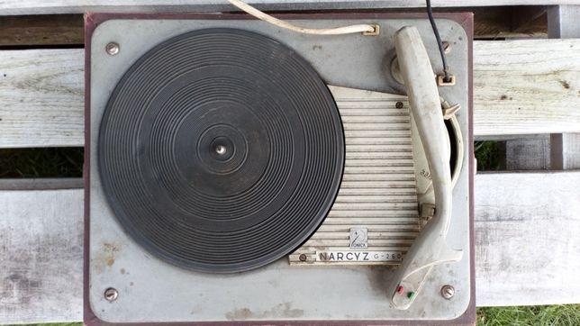 Ponad 50letni adapter gramofon Narcyz G460 .