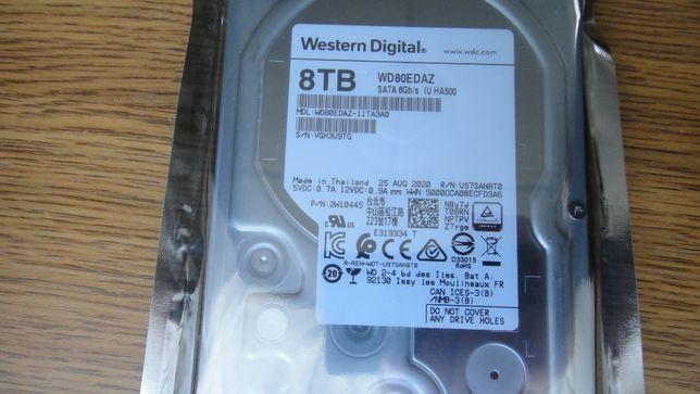 НОВИЙ WD Western Digital WD80EDAZ 8TB 5400rpm 256MB 3.5 SATA III