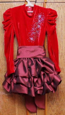 Платье для девочки 4-х лет