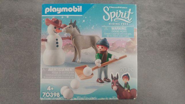 Klocki playmobil 70398 Spirit Zabawa na śniegu