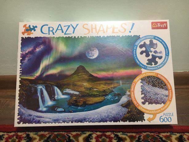 Crazy shapes trefl пазли дивної форми