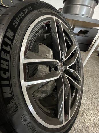 Kola AUDI RS6 RS7  4x Nowe + Michelin Pilot Sport 4s + Czujniki