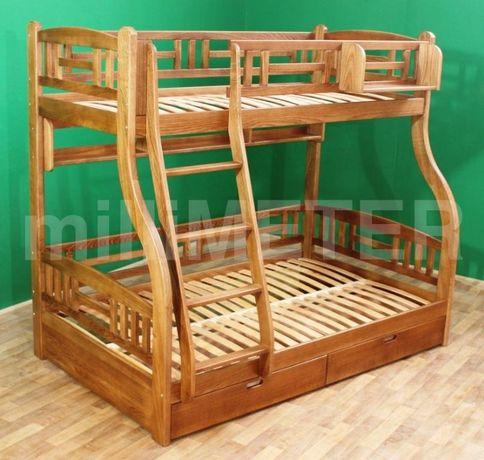 кровать двухъярусная Лиана 1, двоповерхове ліжко, двухярусная кровать
