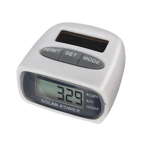 Pedómetro solar HY-02T Novos em caixa