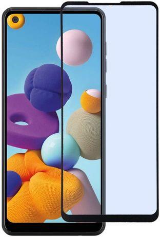 Szkło hartowane Full Glue na cały ekran do Samsung Galaxy A21S