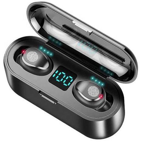 SŁUCHAWKI bezprzewodowe Bluetooth Powerbank do XIAOMI SAMSUNG iPHONE
