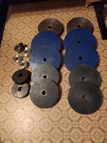 Штанга и блины (120 кг+)