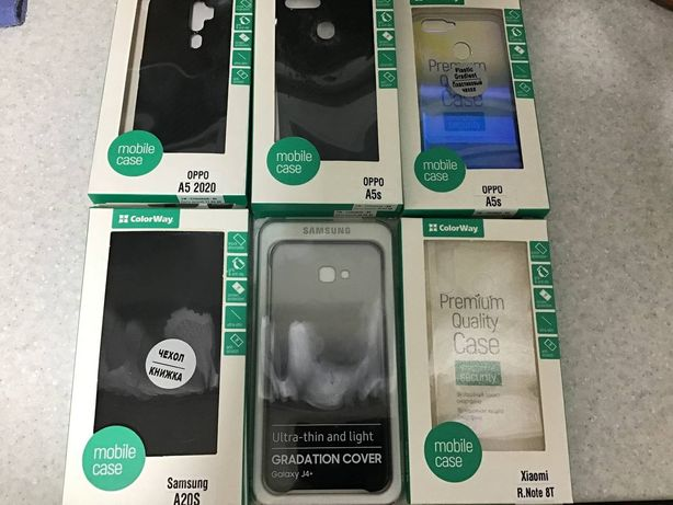 Новые Чехлы и стёкла на Samsung, Huawei, OPPO, Xiaomi Дешево!