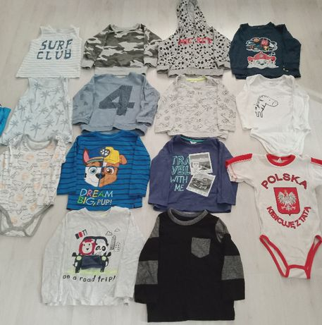 Ubrania dla chłopca rozm. 92