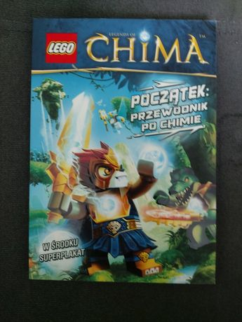 Książka Lego Chima