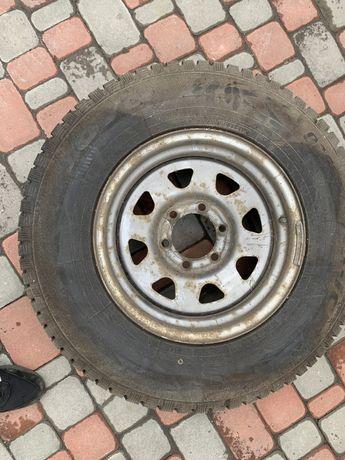 Шины с дисками Toyo 235/75 16 диски Тойота