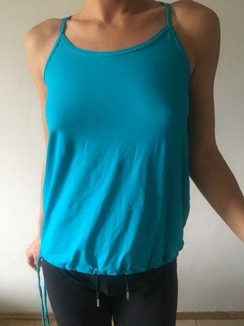 Sportowa bluzka na silownie/bieg firmy Sweaty Betty Londyn. Rozmiar S