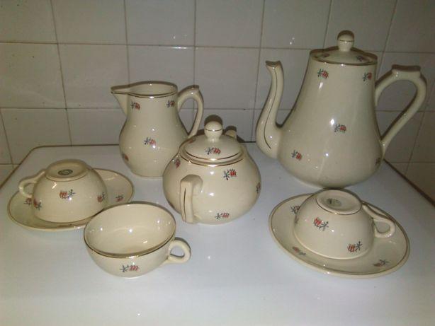 Serviço de Chá antigo Lusitania Coimbra