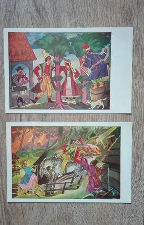 4 pocztówki / Zofia Stryjeńska