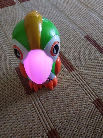 Попугай говорящий развивающий