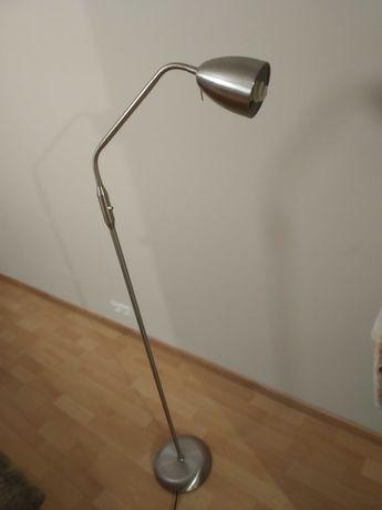Lampa stojąca stalowa