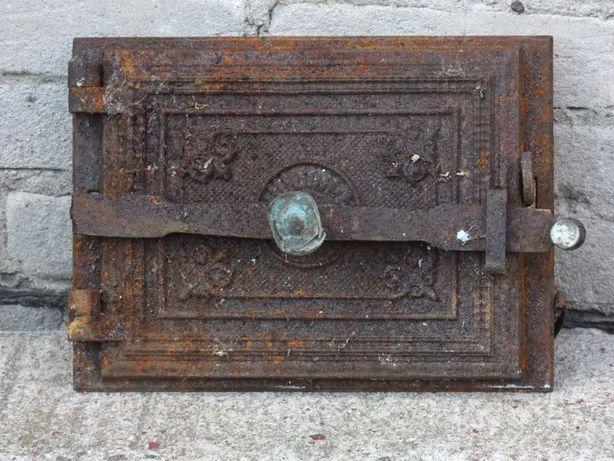 Stare drzwiczki żeliwne - Antyk