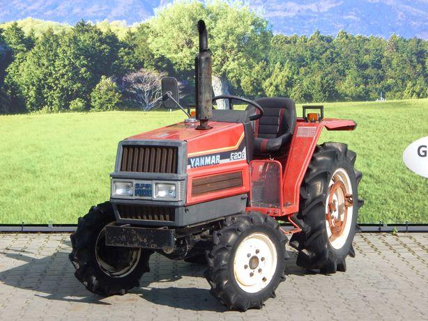 mały traktor Yanmar F20D 4x4 traktorek komunalny, sadowniczy