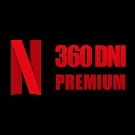 NETFLIX 360 DNI Premium Konto PL +gratis SPOTIFY +Auto Wysyłka +PEWNE