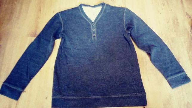sweter niebieski
