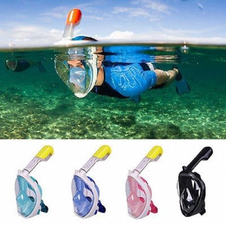 маска для снорклинга -подводного плавания Freebreath четыре цвета