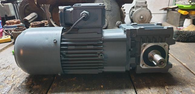 Nowy motoreduktor katowy 58obr z silnikoem elektrycznym 550w hamulec