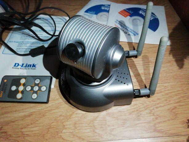 câmara Wi-Fi d-link rotativa com comando(PREÇO FIXO)