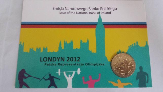 Moneta okolicznościowa 2zł NBP 2012 Reprezentacja Olimpijska