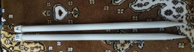 Спицы для вязания прямые 15 мм