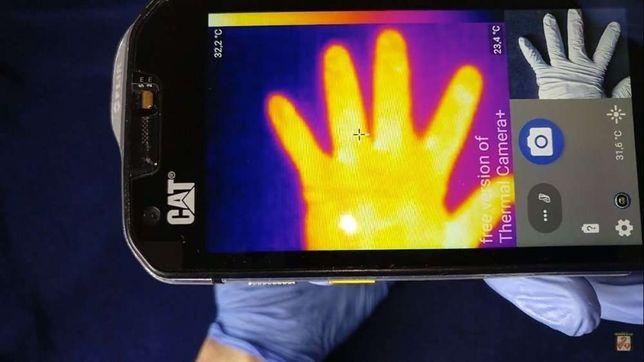 Caterpillar CAT S60 первый телефон с тепловизором тепловизор FLIR Seek