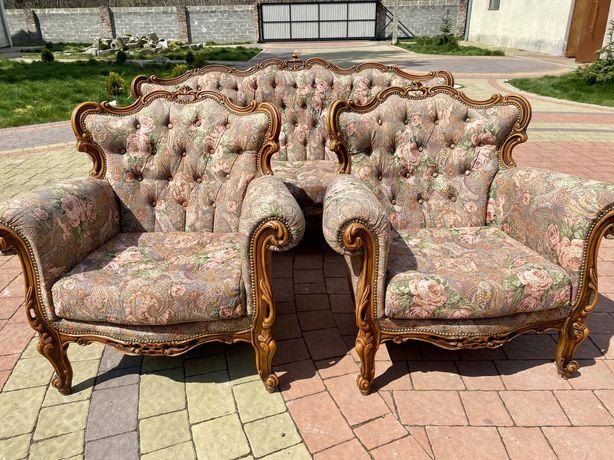 Дивани Барокко, меблі Бароко, комплект Барокко, антикварні меблі