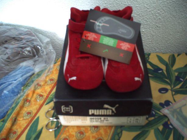 Sapatilhas Puma original tamanho 24 novas
