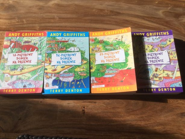 zestaw książek dla dzieci Andy Griffiths na prezent