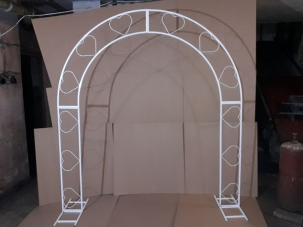 Свадебная/садовая/кованная арка/фотозона/выездная церемония/свадьба