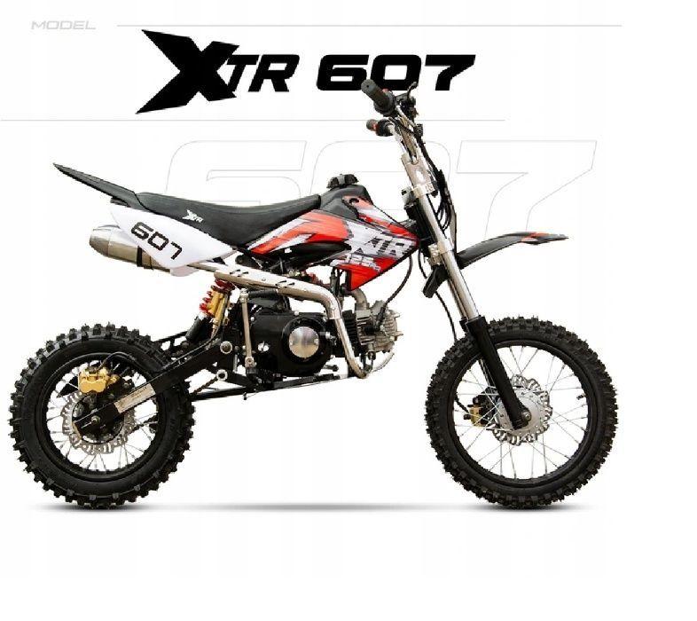 Cross 125cc XTR 607M koła 14-12 rozrusznik