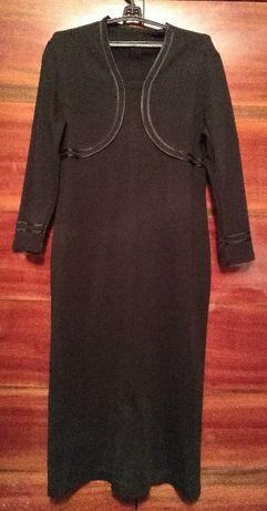 Теплое шерстяное платье