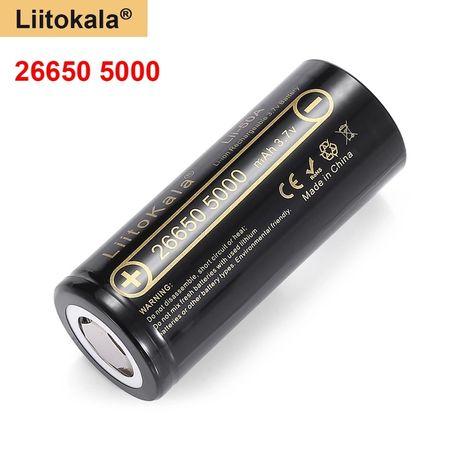 Liitokala 26650 bateria ogniowo akumulator wysoka jakość