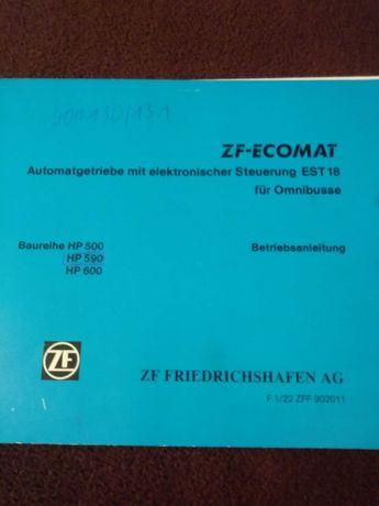 Instrukcja obslugi automatyczna skrzynia biegow z elekttonika ZF
