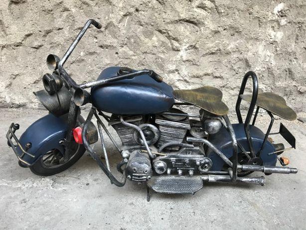 Replika motocykla - Auto blaszane - dekoracja
