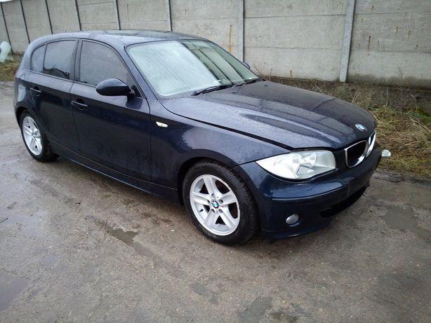 BMW 1 E87 uszczelka drzwi lewych przednich