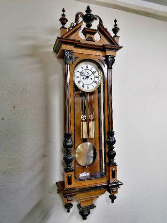 Zegar GUSTAV BECKER wiszacy wagowy z 1896 r. oryginał