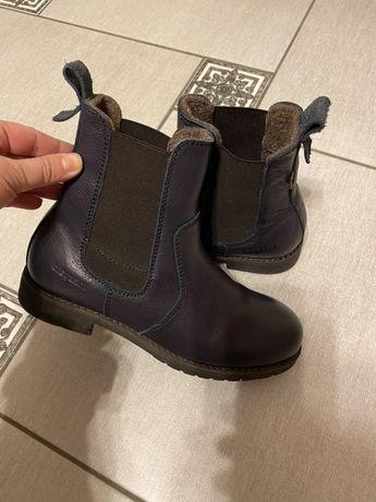 Ботинки челси 34-35 кожа, до 22 см