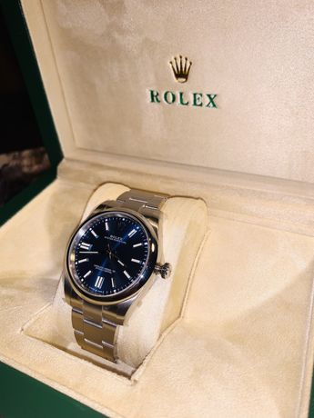Rolex Oyster Perpetual 41  GMF SS 904L Blue Dial Swiss 3230