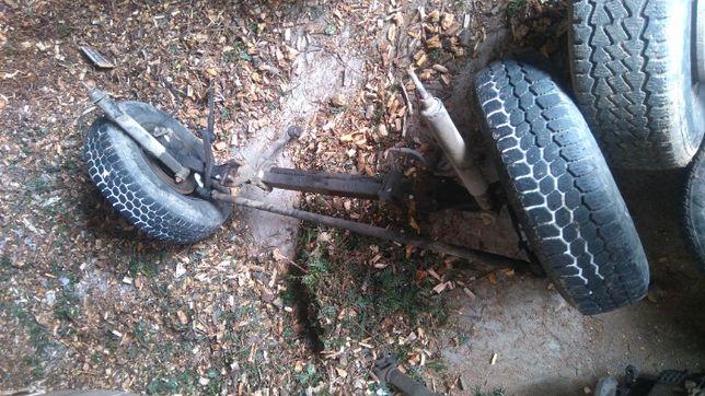 oś przyczepka traktor sam