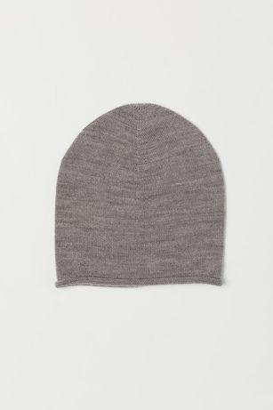 Шерстяная шапка h&m premium quality p.1-2года